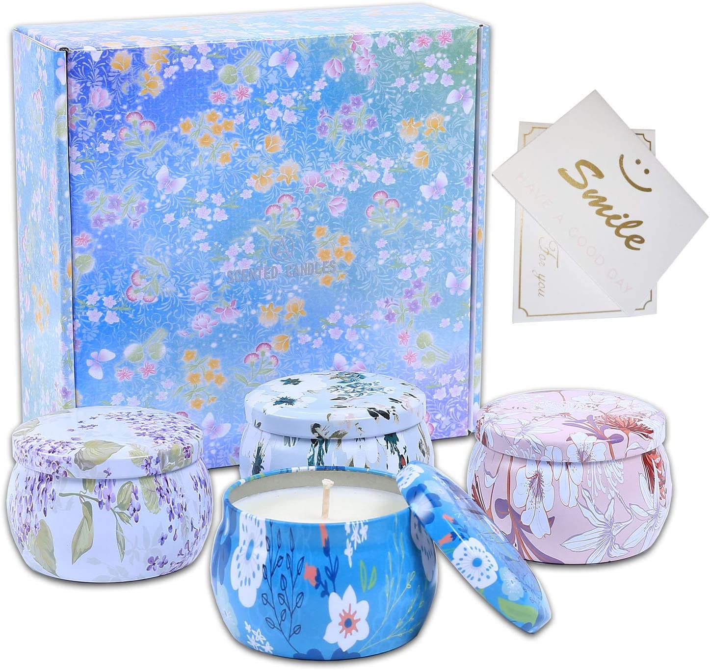 Candle Travel Tins Scented Set Home Kansas City Mall Relaxing Stress for Recommendation R