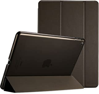 Procase iPad 9.7 Case 2018 iPad 6th Generation Case / 2017 iPad 5th Generation Case - Ultra Slim Lightweight Stand Case with Translucent Frosted Back Smart Cover for Apple iPad 9.7 Inch –Brown