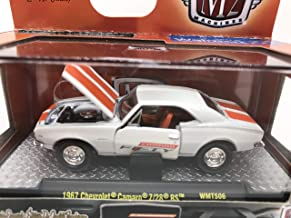 M2 Machines Camaro Fifty Years Premium Edition 1967 Chevrolet Camaro Z/28 RS 1:64 Scale WMTS06 17-32 White/Orange Details Like NO Other! 1 of 8000