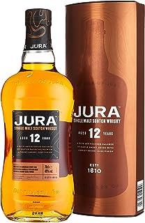 Jura 12 Years Old Single Malt Scotch Whisky mit Geschenkverpackung 1 x 0.7 l