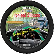 New Silicone Semi-truck Steering Wheel Cover with Negative Ion Fits 16
