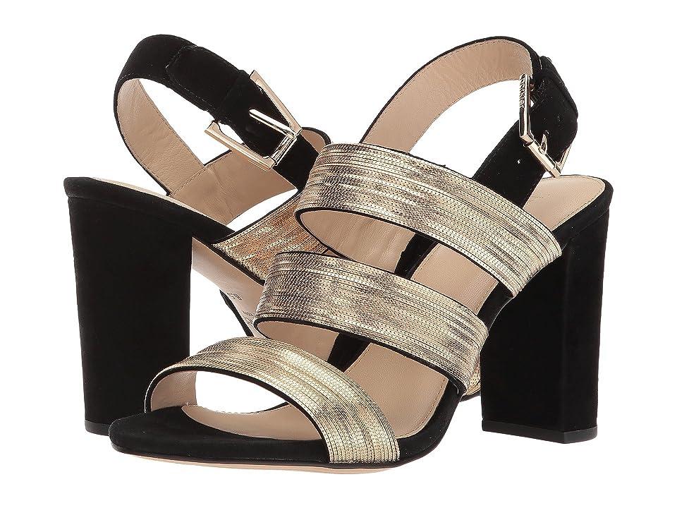 Botkier Genesa (Black/Gold) High Heels