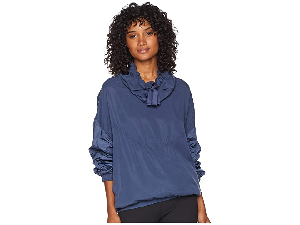 Free People Movement Far and Away Pullover (Blue) Women