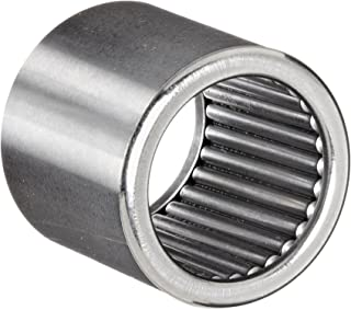 Koyo GB-1012 Precision Needle Roller Bearing, Full Complement Drawn Cup, Open, Inch, 5/8