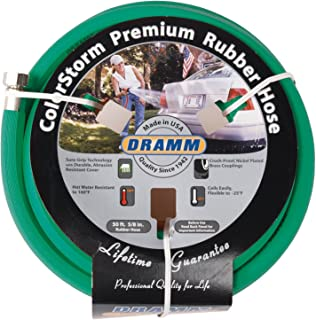 (green) - Dramm Corporation .63in. X 50ft. Green ColorStorm Premium Rubber Hose 10-17004
