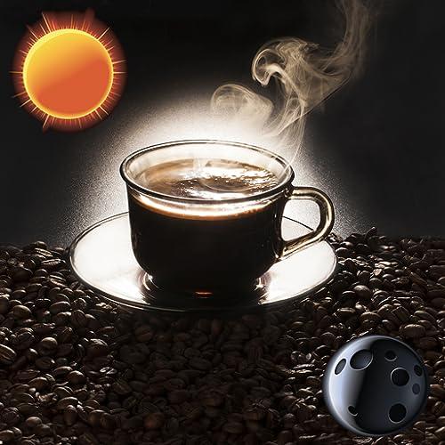 Lecker Kaffee Uhr Widget