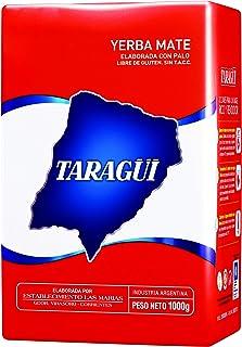 Yerba Mate (Hierba Mate) con palo Taragüi Original 1 kg. 3 (tres) paquetes de 1 kilo. Infusión típica de países como Argentina, Uruguay y Paraguay. Bebida energética con excelentes propiedades nutricionales.