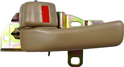 PT Auto Warehouse TO-2532E-1LH - Inside Interior Inner Door Handle, Beige/Tan - Driver Side
