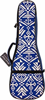 "MUSIC FIRST cotton Vintage style 21 inch Soprano""Blue Aztec"" Ukulele case ukulele bag ukulele cover"