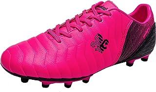Zapatillas de fútbol Niños FG/TF Profesionales Zapatos de fútbol Aire Libre Atletismo Calzado de Entrenamiento Zapatos de ...