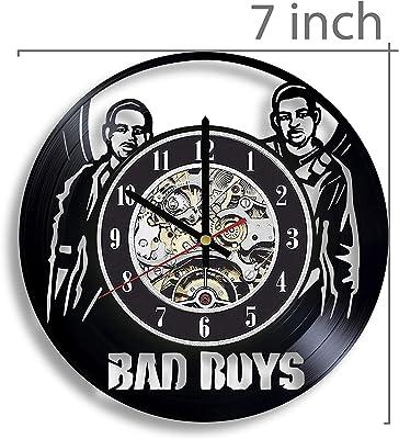 Gifts by N Bad Boys Vinyl Record Wall Clock, Bad Boys Movie, Bad Boys Artwork, Movie Art, Bad Boys Wall Decor, Bad Boys Film, Bad Boys Clock, Bad Boys 1995 Movie