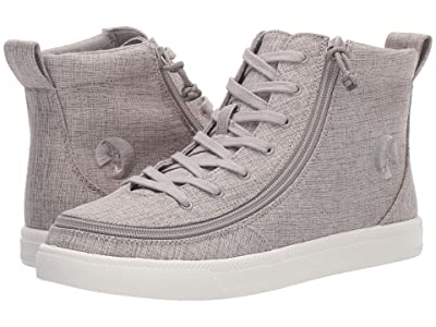 BILLY Footwear Classic Lace High Chambray (Grey Jersey) Women
