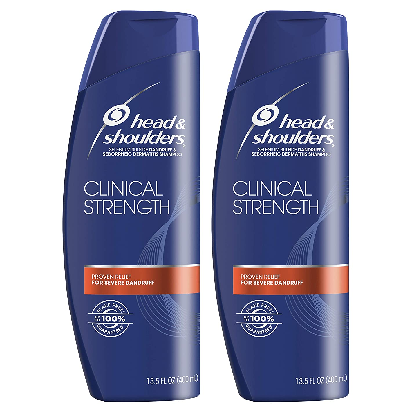 成人期迫害する放射能Head and Shoulders Clinical Strength Dandruff and Seborrheic Dermatitisシャンプー、13.5?FL OZ