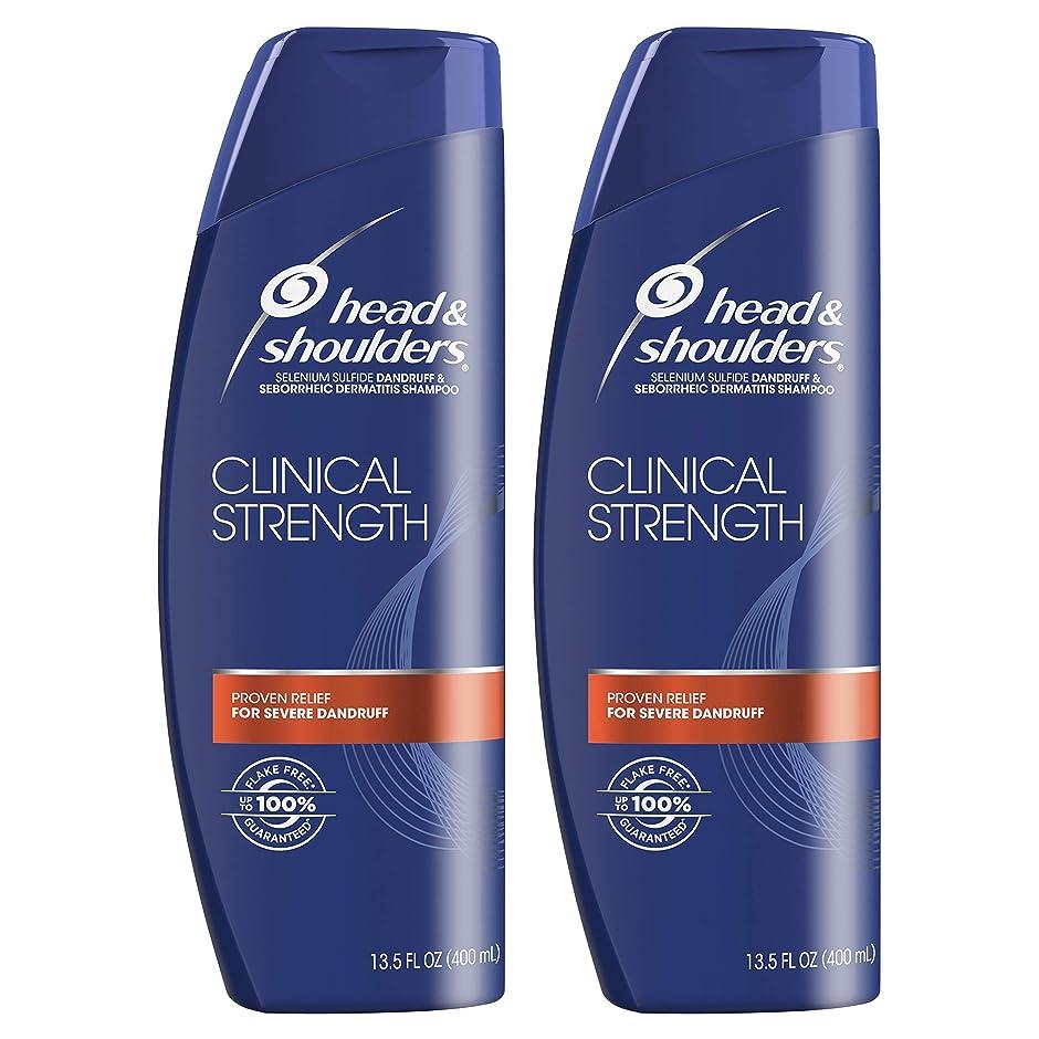 満たすボタンバスタブHead and Shoulders Clinical Strength Dandruff and Seborrheic Dermatitisシャンプー、13.5?FL OZ