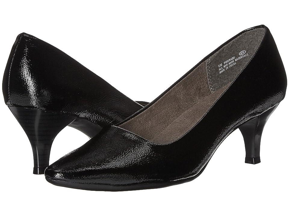 A2 by Aerosoles Foreward (Black Patent) Women