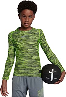 Boys Pro Warm Compression Long Sleeve Top