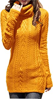 v28 Women Polo Neck Knit Stretchable Elasticity Long Sleeve Slim Sweater Jumper