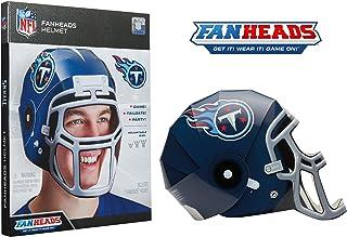FanHeads Wearable NFL Football Helmets (All Team Options) – Reinforced Laminated..
