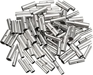 100Pcs Butt Splice Wire Connectors Copper Bare Tinned Crimp Terminals 22-10AWG - Electrical Equipment & Supplies Connector...