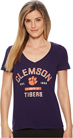 Champion College - Clemson Tigers University V-Neck Tee