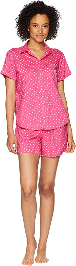 Camp Shirt Boxer Pajama Set