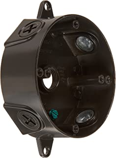 RAB Lighting VXCA Weatherproof Round Box with No Cover, Aluminum, 1/2
