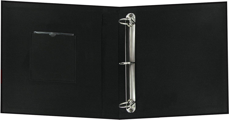 Fabric Frame 3-Ring Scrapbook 12x12 Cobalt Blue New Version