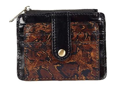 Patricia Nash Cassis Card Case (Abstract Animal) Handbags