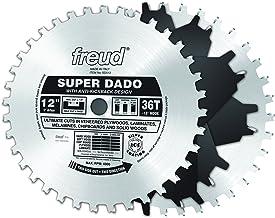 """Freud 12"""" x 36T Super Dado Sets (SD512)"""
