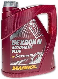 MANNOL MN8206-4 Dexron III Automatic Plus, 4 liter