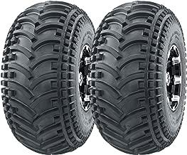 TWO 22//11-8,22//11.00-8,22//11.00x8 ATV HONDA 4 ply Knobby Four Wheeler Tires