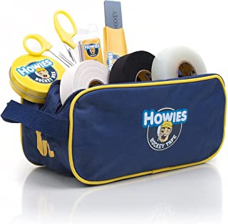Howies Hockey Tape Loaded Accessory Bag - Accessory Bag Loaded with 3 Rolls Tape, Scissors, Skate Stone, Helmet Repair Ki...