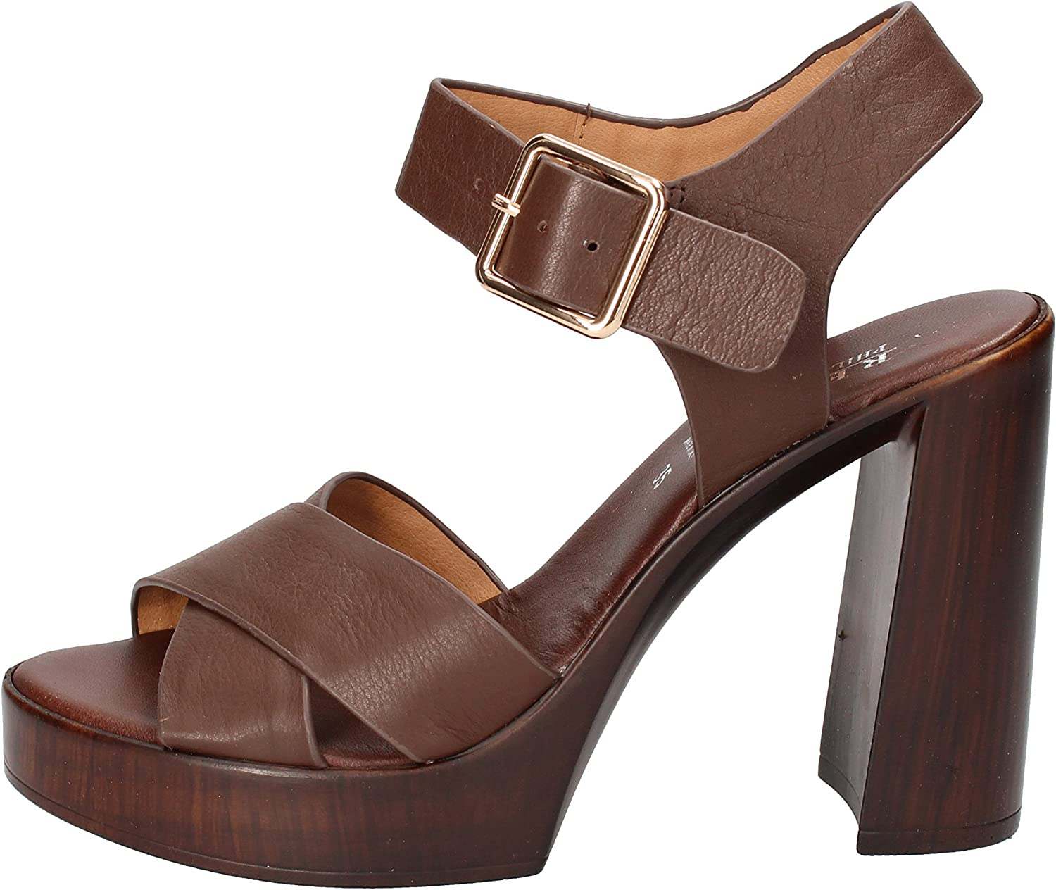 PHIL GATIER by REPO Sandals Womens Leather Brown