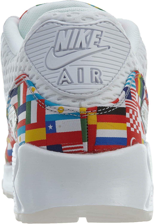 Amazon.com   Nike Air Max 90 NIC QS - US 4 White/Multi-Color ...