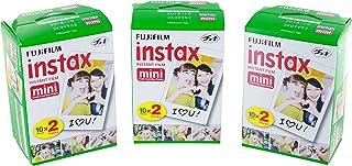 Instax - Fujifilm Mini película Bundle Pack (60Disparos)