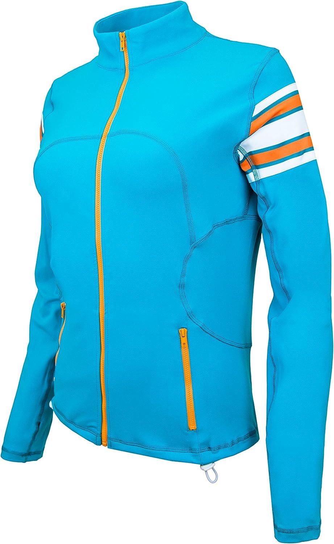 Aqua Splash Yoga Track Jacket