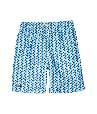 Toobydoo Piere Multi Swim Shorts (Toddler/Little Kids/Big Kids) (Blue) Boy