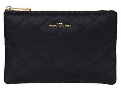 Marc Jacobs The Beauty Flat Pouch (Black) Bags