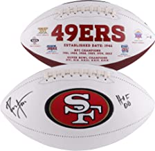 Ronnie Lott San Francisco 49ers Autographed White Panel Football with