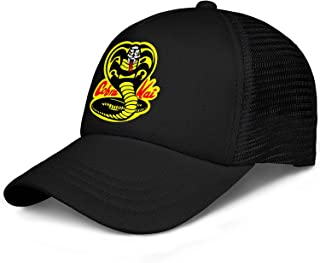 SHTHYTS Kids Boys Cobra-Kai-Logo-Adjustable Snapback Hat Fashion Hunting Dad Caps