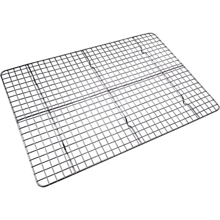 COOLING RACK 1//3 SIZE WIRE PAN GRATE WHOLESALE 12 QTY