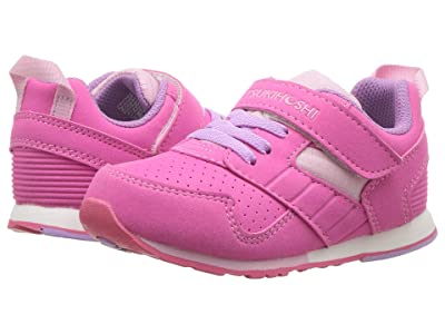 Tsukihoshi Kids Racer (Toddler/Little Kid) (Fuchsia/Pink) Girls Shoes