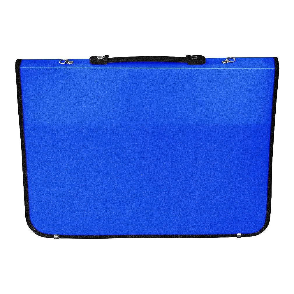 Artcare 15211090 36 x 4 x 28.5 cm A4 Synthetic Material Academy Portfolio, Royal Blue