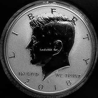 2018 S Kennedy Half Dollar Light Finish Kennedy Silver Reverse Proof Rare Half Dollar Reverse Proof Silver Light Finish DCAM