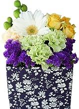 父の日 花 ギフトプレゼント 高級 フラワーアレンジメント 生花 お祝い 誕生日 フラワーデザイナーおまかせ (リバティボックスMサイズ)