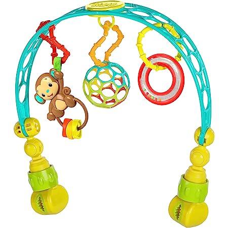 oball Bright Starts/Kids Ii 81536 Arco Gioco da Passeggino Flex 'N Go Activity Arch, Multicolore