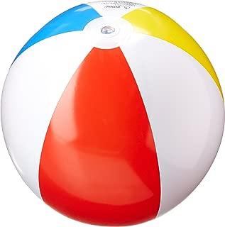 Intex FBA_59020Ep 3 Pack Glossy Panel Colorful Beach Ball Inflatable Pool, 20
