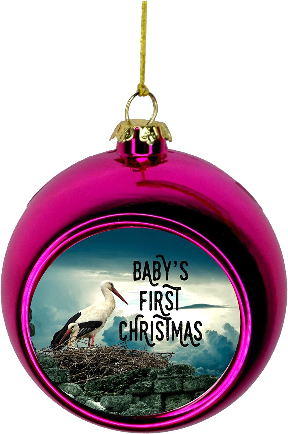New Baby Ornament - Ornaments Daily bargain sale Tree for low-pricing C Christmas
