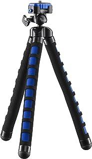 Mantona Kaleido Flex lekki statyw Flex (z wysokiej jakości głowicą kulową 360°, odpowiedni do aparatów cyfrowych i wideo, ...