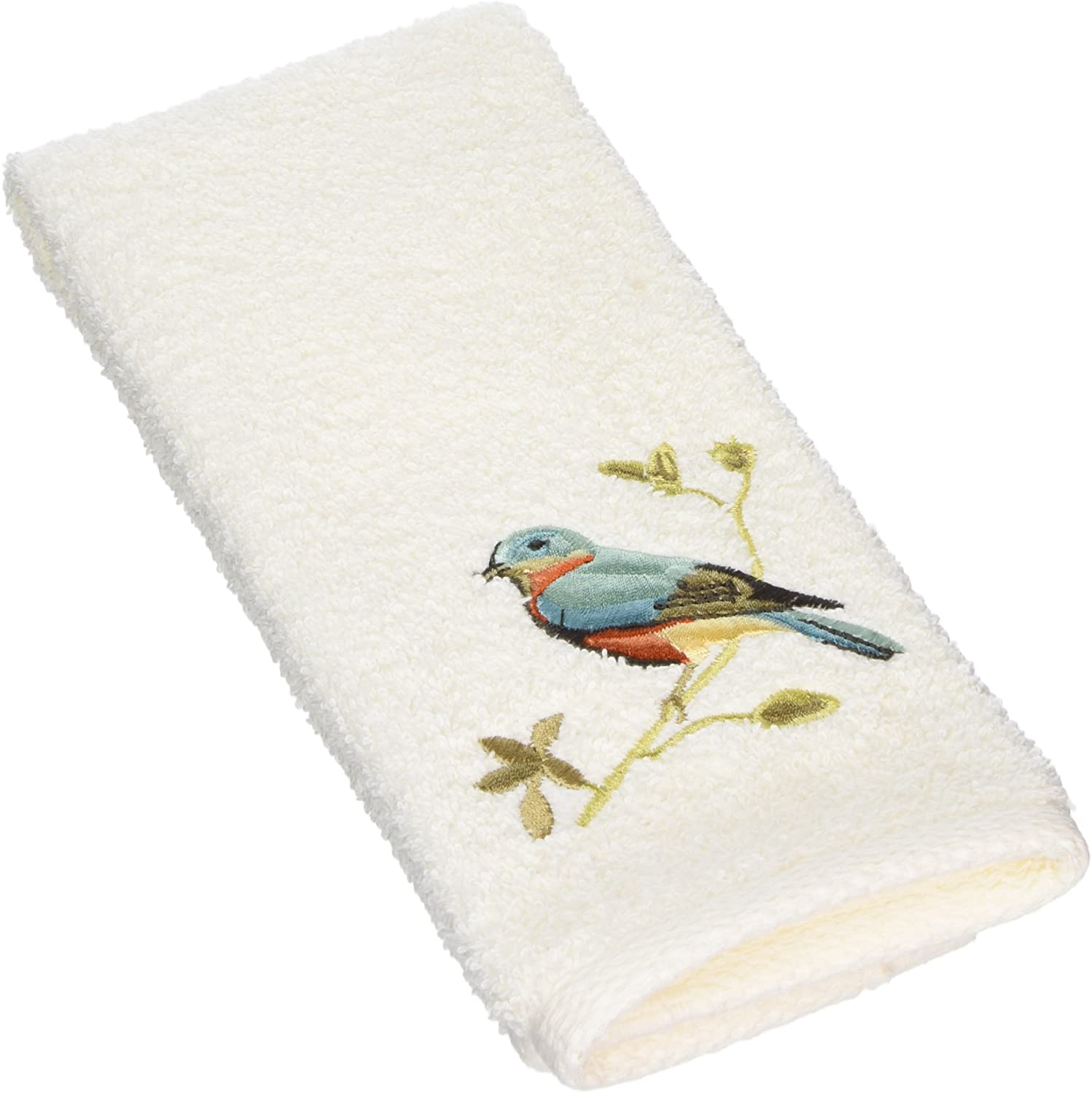 Avanti New color Linens Premier Songbirds Fingertip Collection Towel Ivo Recommended